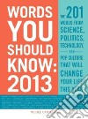 Words You Should Know 2013