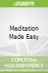 Meditation Made Easy libro str