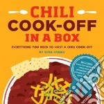 Chili Cook-off in a Box libro in lingua di Hyams Gina
