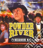 Powder River Season Four (CD Audiobook) libro in lingua di Robbins Jerry