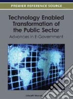 Technology Enabled Transformation of the Public Sector libro in lingua di Weerakkody Vishanth (EDT)