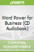 Word Power for Business (CD Audiobook)