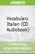 Vocabulary Italian (CD Audiobook)