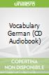 Vocabulary German (CD Audiobook)