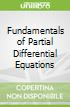 Fundamentals of Partial Differential Equations