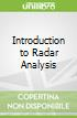 Introduction to Radar Analysis