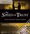 The Speed of Trust (CD Audiobook) libro str