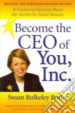 Become the Ceo of You, Inc. libro in lingua di Butler Susan Bulkeley