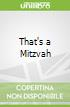 That's a Mitzvah