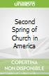 Second Spring of Church in America