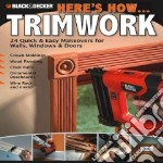 Trimwork libro in lingua di Creative Publishing (COR)