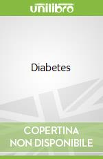Diabetes libro in lingua di Brown Ruby M.