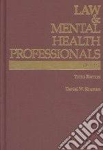 Law & Mental Health Professionals libro in lingua di Shuman Daniel W.