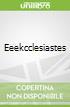 Eeekcclesiastes