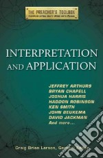 Interpretation and Application libro in lingua di Larson Craig Brian (EDT)