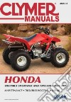 Clymer Manuals Honda Trx250ex Sportrax and Trx250x 2001-2012