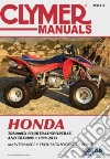 Clymer Manuals Honda Trx400ex Fourtrax/Sportrax and Trx400x 1999-2013