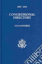 Official Congressional Directory 2009-2010 libro in lingua di Joint Committee on Printing United States Congress
