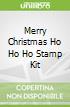 Merry Christmas Ho Ho Ho Stamp Kit