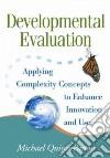Developmental Evaluation libro str