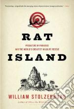 Rat Island libro in lingua di Stolzenburg William
