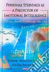Personal Strivings As a Predictor of Emotional Intelligence