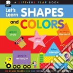 Let's Learn Colors and Shapes libro in lingua di Sami (COR)