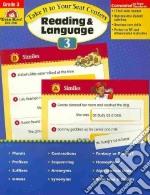 Take It to Your Seat Centers Reading & Language, Grade 3 libro in lingua di Evans Joy, Moore Jo Ellen