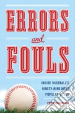 Errors and Fouls libro in lingua di Handrinos Peter