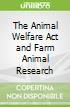 The Animal Welfare Act and Farm Animal Research