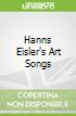 Hanns Eisler's Art Songs