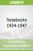 Notebooks 1934-1947
