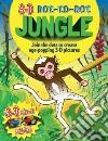 3-D Dot-to-Dot Jungle libro str