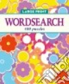 Elegant Large Print Wordsearch libro str