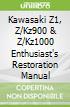 Kawasaki Z1, Z/Kz900 & Z/Kz1000 Enthusiast's Restoration Manual