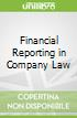 Financial Reporting in Company Law