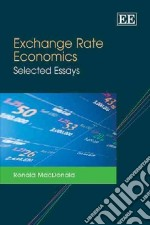 Exchange Rate Economics libro in lingua di MacDonald Ronald