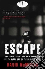Escape libro in lingua di David McMillan