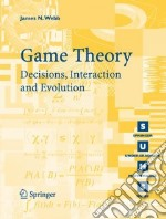Game Theory libro in lingua di Webb James N.