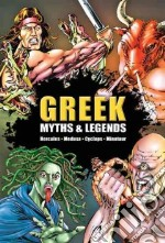 Greek Myths & Legends libro in lingua di Cameron-cooper Gilly, Saunders Nick