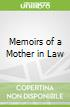 Memoirs of a Mother in Law