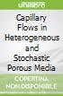 Capillary Flows in Heterogeneous and Stochastic Porous Media
