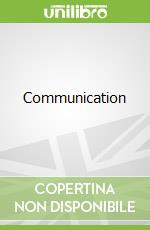 Communication libro in lingua di Ian Graham