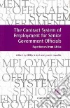 The Contract System of Employment for Senior Government Officials