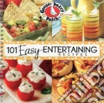 101 Easy Entertaining Recipes Cookbook libro in lingua di Gooseberry Patch (COR)