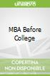 MBA Before College