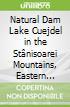 Natural Dam Lake Cuejdel in the Stânisoarei Mountains, Eastern Carpathians