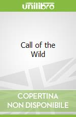 Call of the Wild libro in lingua di Jack London