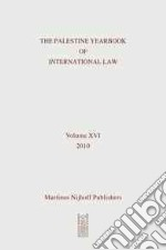 The Palestine Yearbook of International Law 2010 libro in lingua di Imseis Ardi (EDT)