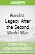 Bundist Legacy After the Second World War